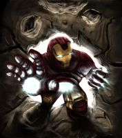 Iron Man - Commission by Arukun14