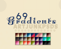 Second pack of Gradients [with 69.grd] by art-psds-junk