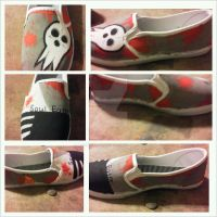 Soul Eater Shoes by bringmethefall13x8