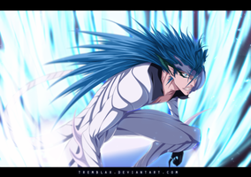 Grimmjow - Commission by Tremblax