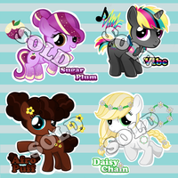 Pony Adoptables by chunk07x