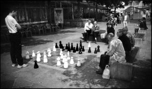 Chess in Lugano by dominussum