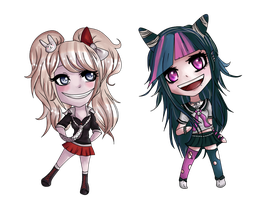 Dangan Chibis by Crisskross