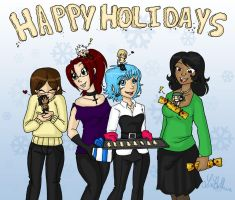 Happy Holidays by jewelschan