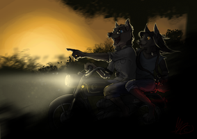 Coming back home by gonedreamer