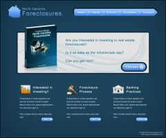 Foreclosures Site by datamouse