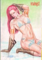 RED SONJA by JUN DE FELIPE (10122013) by rodelsm21