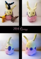 shiny goomy plush by nfasel