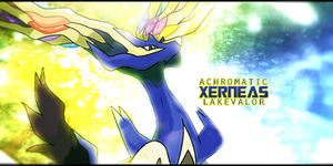 Xerneas Signature by LVAchromatic