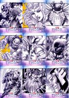 upperdeck thor sketchcards A by gammaknight