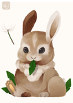 bunny by horror-child