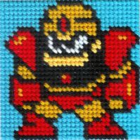 DLN. 004 Guts Man Cross Stitch by ZetaGame