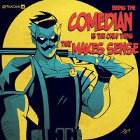 WW 03 The Comedian by RickCelis