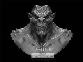 Demon WIP by robersonjk