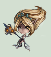 LoL - Janna by tenzeru-chan