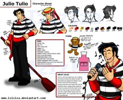 Quick Julio Tulio Character Sheet by IzIzIza