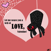 Spider Valentine by DeathDragon13