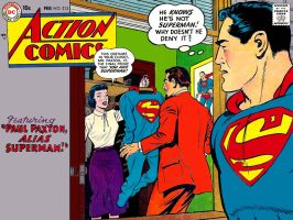 Action Comics 213 by Superman8193
