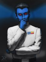 Grand Admiral Thrawn (commission) by Raikoh-illust
