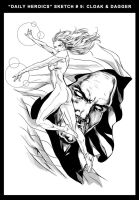 CLOAK and DAGGER by caananwhite