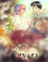 Her color/Elfen Lied by shingamagic