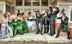 Bridal Party War by mskrissi87