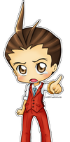 GS4: Chibi Apollo by YueKimura