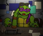 TMNT - No Escape by becky016