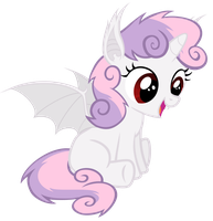 Cute Sweetiebat by Magister39