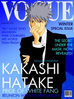Fashion Magazine Cover: Kakashi Version by romizoh373