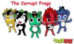 Corrupt Frogs by lizardseraphim