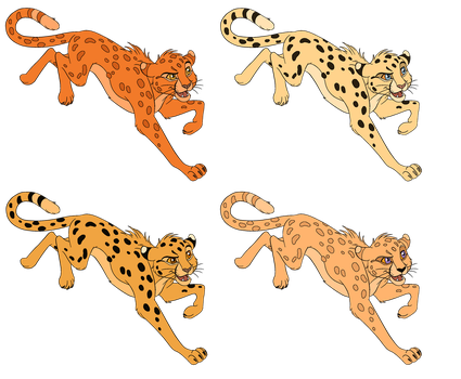 Cheetah Adopts by RirisAdoptables