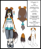 Isabella Collie .:REF:. by ScittyKitty