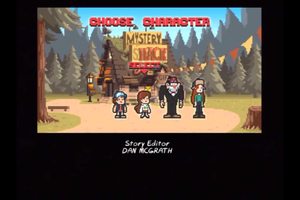 8-Bit Gravity FAlls by RMB13