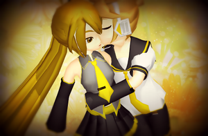 MMD-Sweet Kiss by TaniaVocaloid