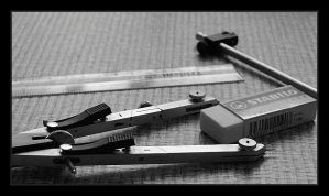 Draughtsman's tools by chrisdarmanin