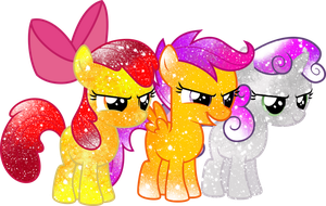 Galaxy Cutie Mark Crusaders by DigiTeku