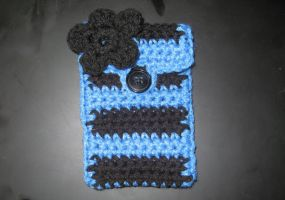 Crochet Cellphone Cozy by rainbowdreamfactory