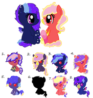 Mystery Breedable Foals Adopts! by star4567980