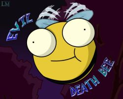 Evil DEATH Bee by marballz