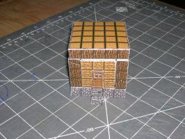 proto papercraft hut1 by ColtCoyote