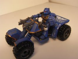 space marine quadbike by marines-orks