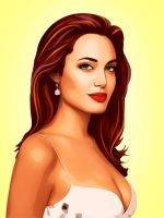 Angelina Jolie by LilyMagpie
