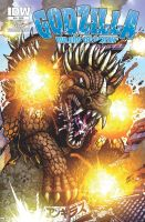 Godzilla: Rulers of Earth cover 14 by KaijuSamurai