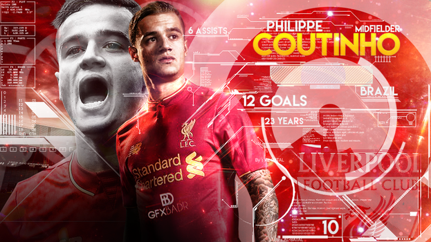 Coutinho Wallpaper 2016 by Badr-DS