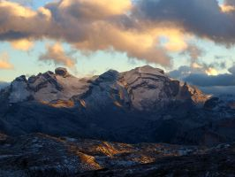 light in the alps by stariander