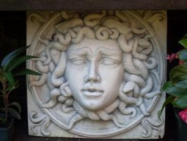 Medusa Statue Stock III by CreepShowStock