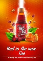 Rosella Red Tea Print Ad by r4prolutions