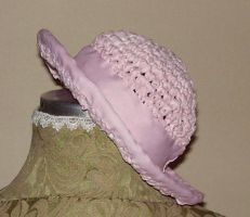Pink hat by daiin