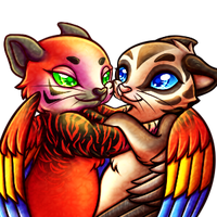 Commission: Tobias and Miu by AttackTheMap